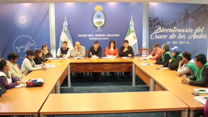 ATE Chaco planteó el problema de la precarización laboral ante una reunión interministerial