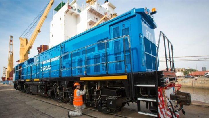 Belgrano Cargas: llegaron desde China 18 nuevas locomotoras