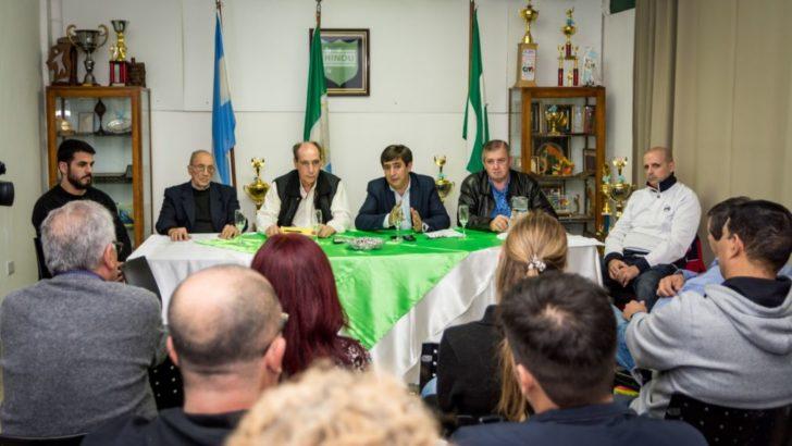El Club Hindú reeligió por unanimidad a Gustavo Martínez como su presidente