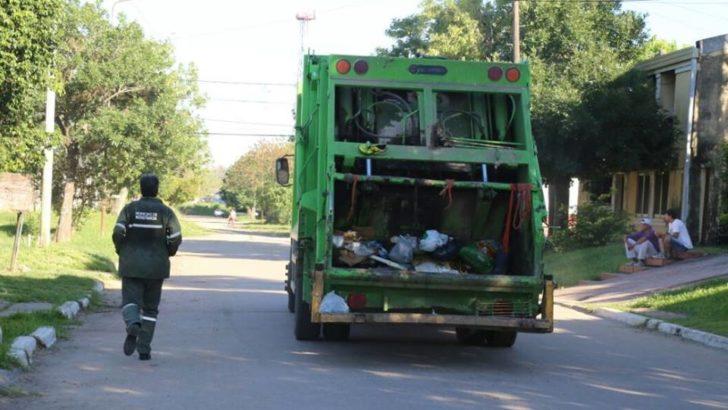 Horarios de recolección de residuos durante el año nuevo