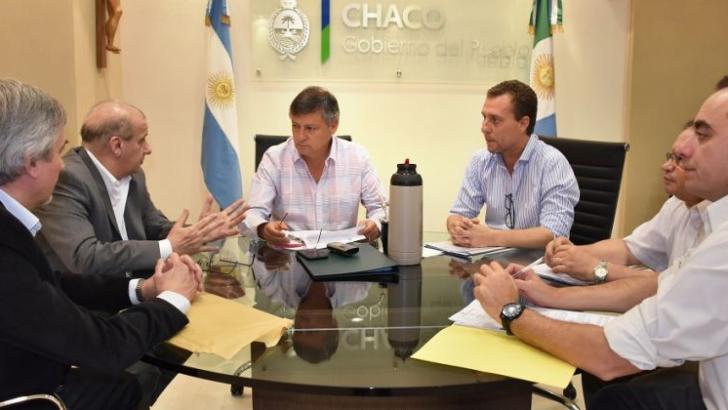 Chaco y Gasnea comenzaron a negociar la construcción de las redes domiciliarias