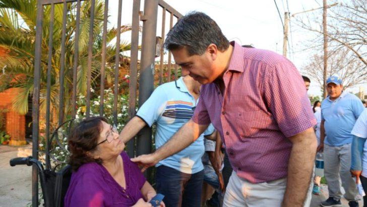 Capitanich, de campaña por el Circuito 15, para dar a conocer las propuestas del Frente Chaco Merece Más