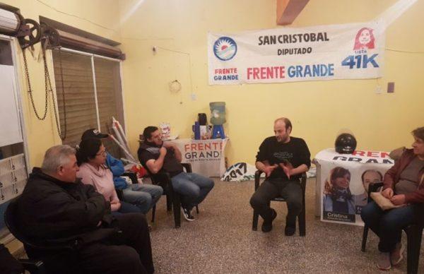 Continúa recorrida de Unidad Ciudadana: Bolatti visitó Bermejo, Villa Ángela y Du Graty