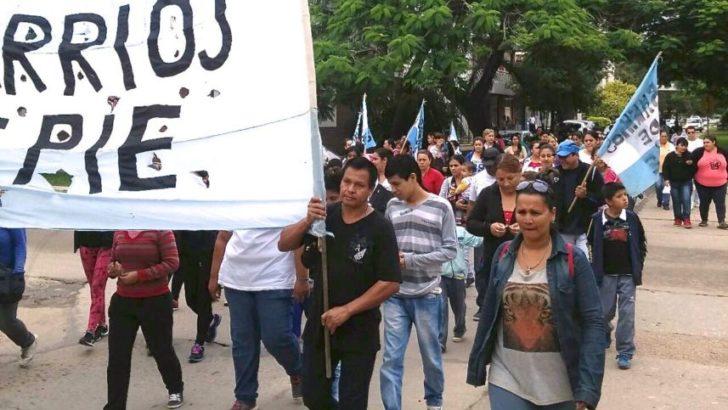 Barrios de Pie marcha por la emergencia alimentaria