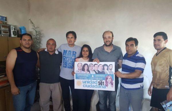 """Bolatti: """"Es muy claro el apoyo a Unidad Ciudadana y a Cristina"""""""