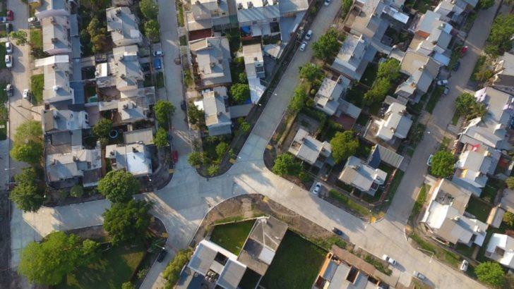 Capitanich habilitó pavimento en los barrios Llaponagat, Udocha y Coabar