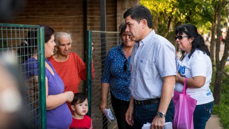 Chaco Merece Más: candidatos y dirigentes caminaron el circuito 5B