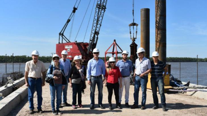 La AGN evaluó los avances de la obra del Puerto Las Palmas
