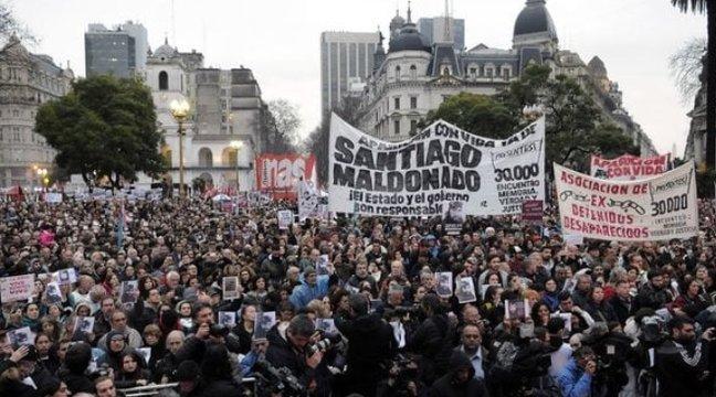 Santiago Maldonado: la ONU pide al Gobierno que esclarezca la actuación de la Gendarmería