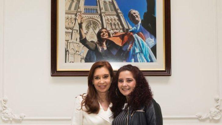 Unidad Ciudadana: Lilian Marolo se reunió con Cristina Kirchner