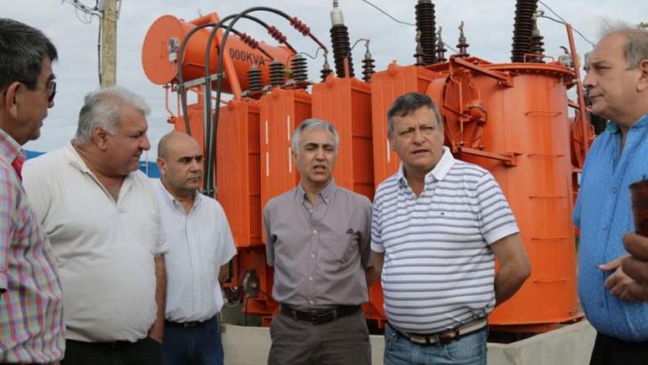 Se inauguró la planta transformadora en San Bernardo