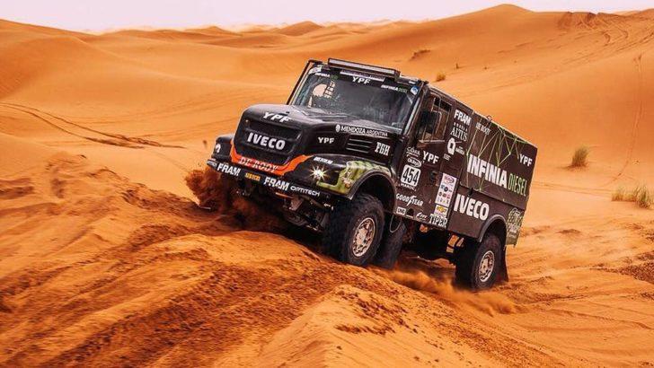 Dakar: Villagra está tercero en camiones