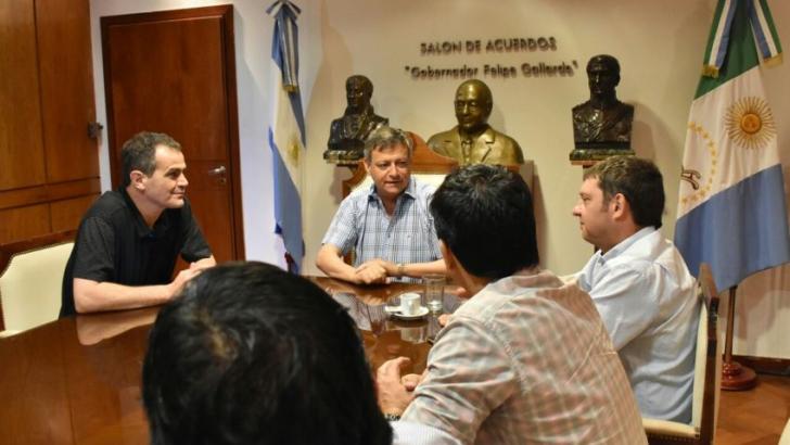 Peppo analizó prioridades con representantes del sector empresarial