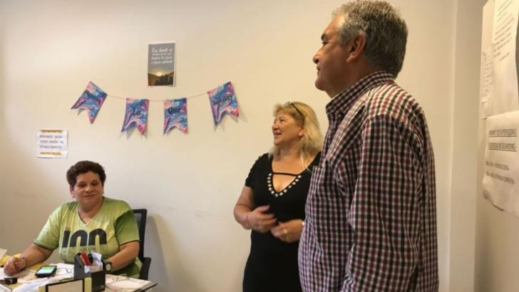 "Violencia de género: Barsesa visitó el refugio ""Madres del Sol"""