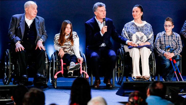 Ajuste: Macri excluyó a los menores de las pensiones por discapacidad