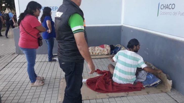 El municipio intensifica contención y asistencia a personas en situación de calle