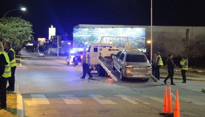 Operativos de tránsito: secuestraron 70 vehículos y un conductor fue detenido al intentar fugarse