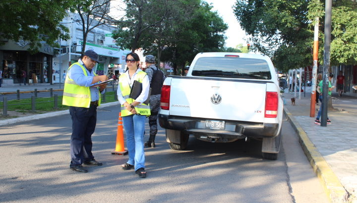 Tras operativos de tránsito, más de 210 vehículos fueron derivados al corralón municipal