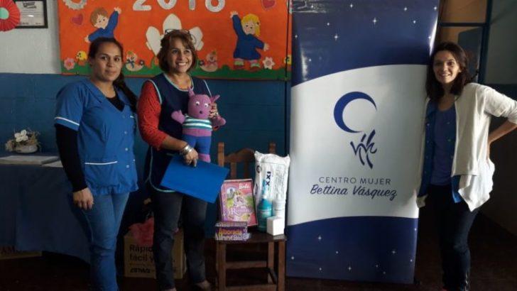 Entregaron donaciones a jardines de infantes del Santa Inés y villa Don Andrés