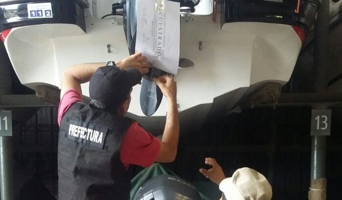 Lavado: encontraron otra lancha a nombre de Varela