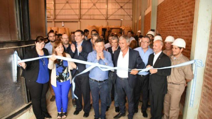 Sameep acompañó la inauguración de la planta de sulfato de aluminio líquido que abastece a la empresa