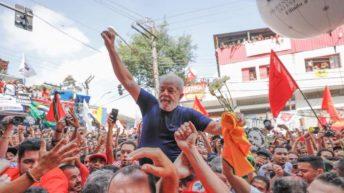 """Brasil: Lula advierte """"no me van a callar"""", mientras prepara el lanzamiento de su candidatura"""