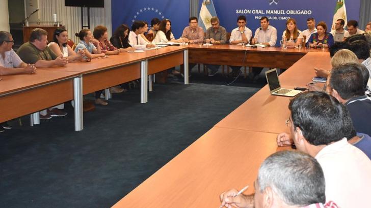 Gobierno y Upcp formaron mesas de trabajo para responder a demandas de trabajadores públicos