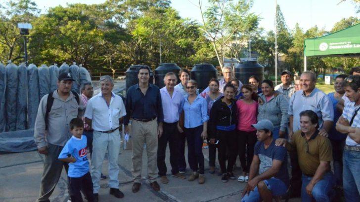 El Municipio y el IDRAF entregaron herramientas para productores de la agricultura familiar