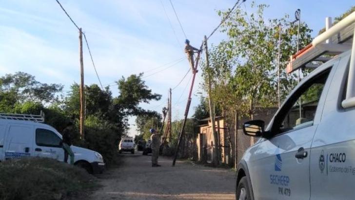 Operación desenganche: Secheep incorpora a 150 familias del asentamiento Ávalos a su sistema