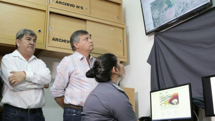 Se inauguró la sala de monitoreo de tobilleras electrónicas