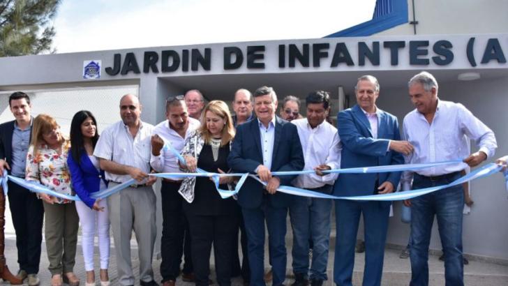 Se inauguró un jardín de infantes en colonia El Pastoril