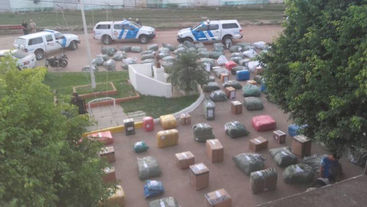 Secuestraron un gran cargamento de contrabando