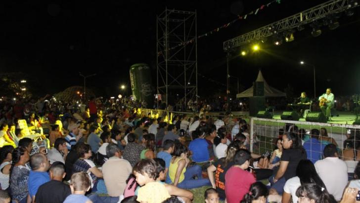 Día del Trabajador y festival en el Parque de la Democracia