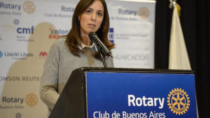 Buenos Aires: Vidal anunció un acuerdo salarial con los docentes