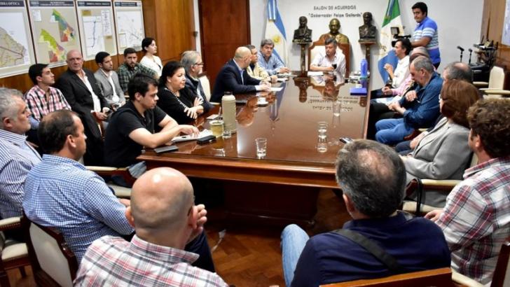"""Gobierno y comerciantes de Resistencia analizaron el proyecto """"Convivencia ciudadana"""""""