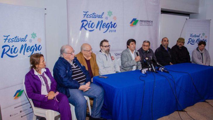Gustavo Martínez anuncio el Festival del Río Negro, con la música como artífice de conciencia ambiental