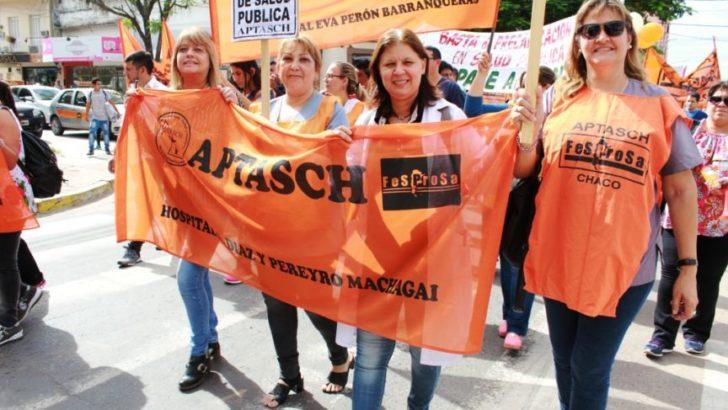 Aptasch convocó a un paro por 48 horas en Salud