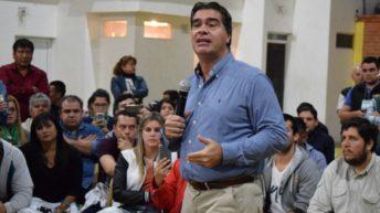Capitanich encabezó el 1° Encuentro Provincial de Juventud Peronista