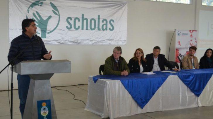 Capitanich participó del lanzamiento del Programa Scholas Ciudadanía