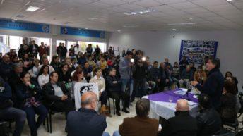 Capitanich reunió a partidos, sindicatos y organizaciones sociales en un fuerte respaldo al paro del lunes