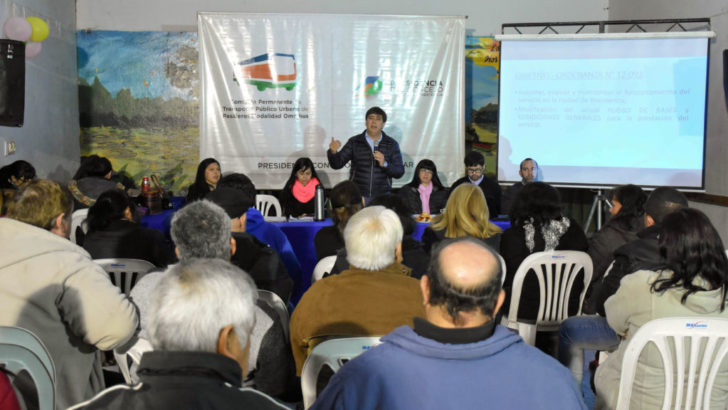 Concejo: vecinos de la zona sur marcaron las mejoras para el servicio de colectivos