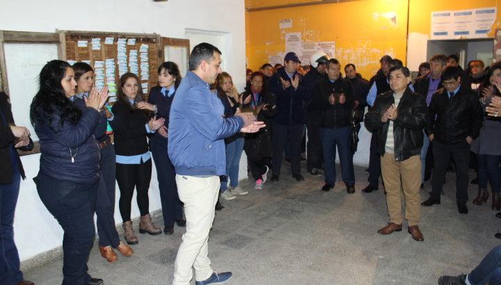 Darío Sardi asumió como director de Tránsito municipal