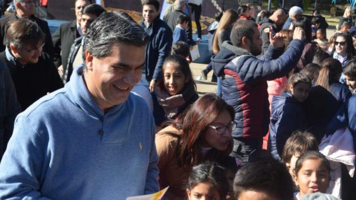 Día de la Seguridad Vial: Capitanich y alumnos de Resistencia conmemoraron la fecha