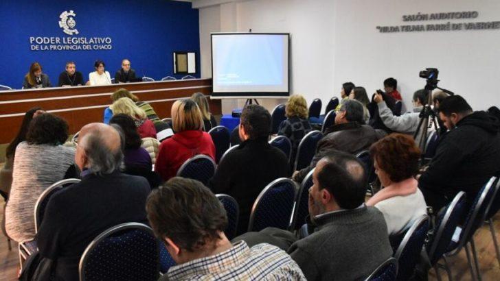 Se debatió la regulación de la pauta oficial en el auditorio del Poder Legislativo