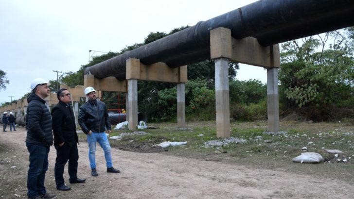 Autoridades de Sameep recorrieron la obra del segundo acueducto