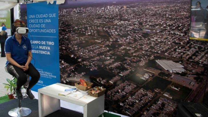 """Bienal 2018: el """"Plan Maestro Campo de Tiro"""" en realidad virtual"""