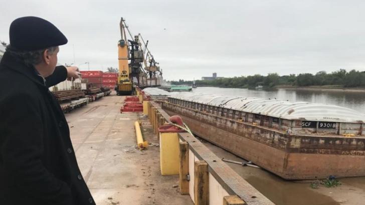 Complejo portuario de Barranqueras y Vilelas: Peppo destacó potencialidades de desarrollo