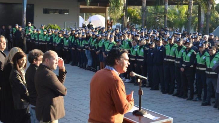 Capitanich presentó la Policía Municipal