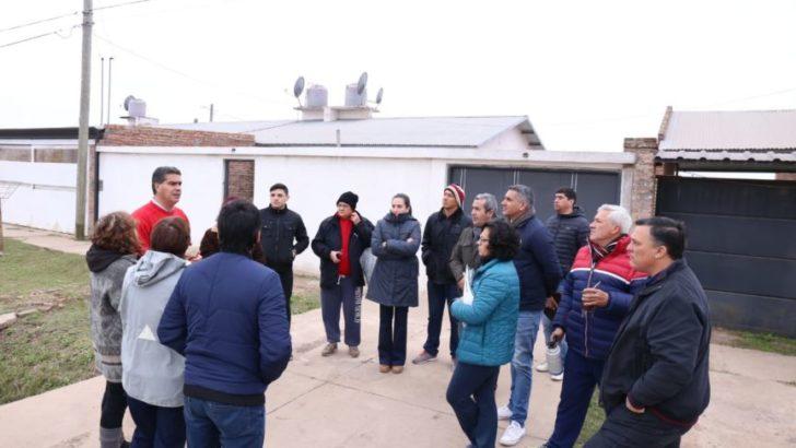 Caraguatá: Capitanich y los vecinos trazaron agenda común para intervención municipal