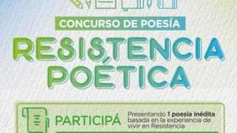 """Invitan a participar del Concurso de Poesías """"Resistencia Poética"""""""